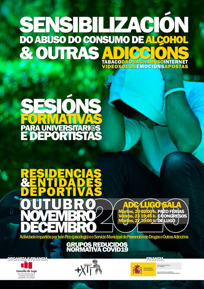 Sensibilización do Abuso do Consumo de Alcohol e outras adiccións