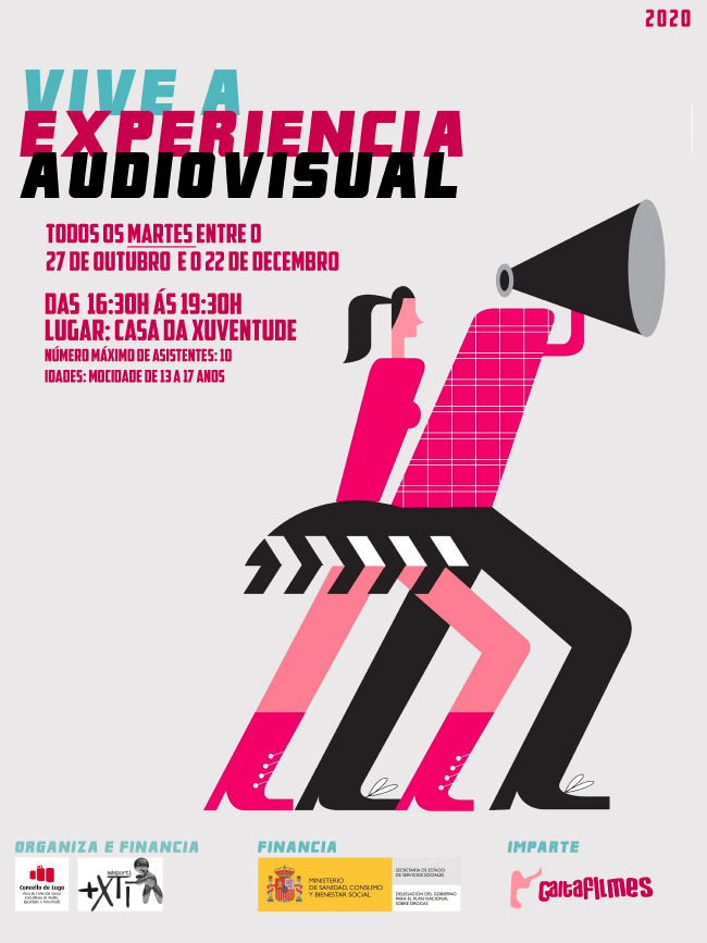 Cartel Vive a Experiencia Audiovisual