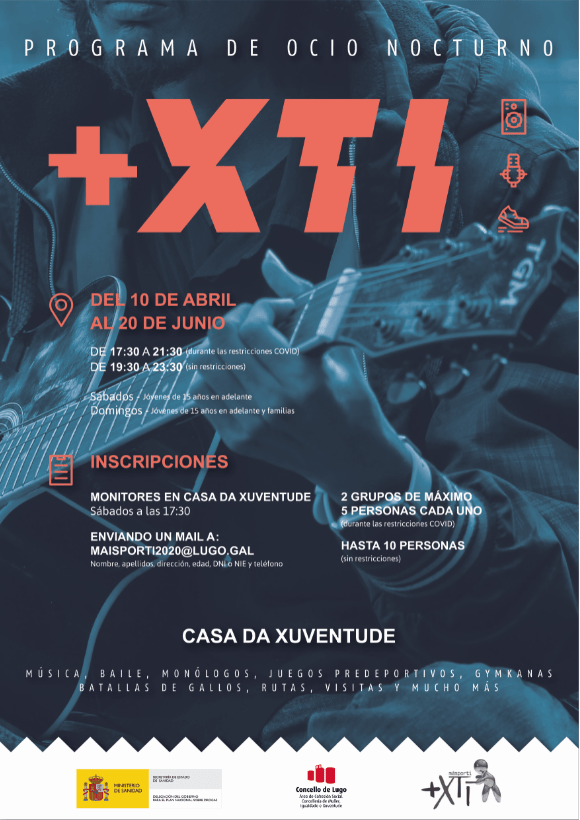 Cartel Actividades +XTI